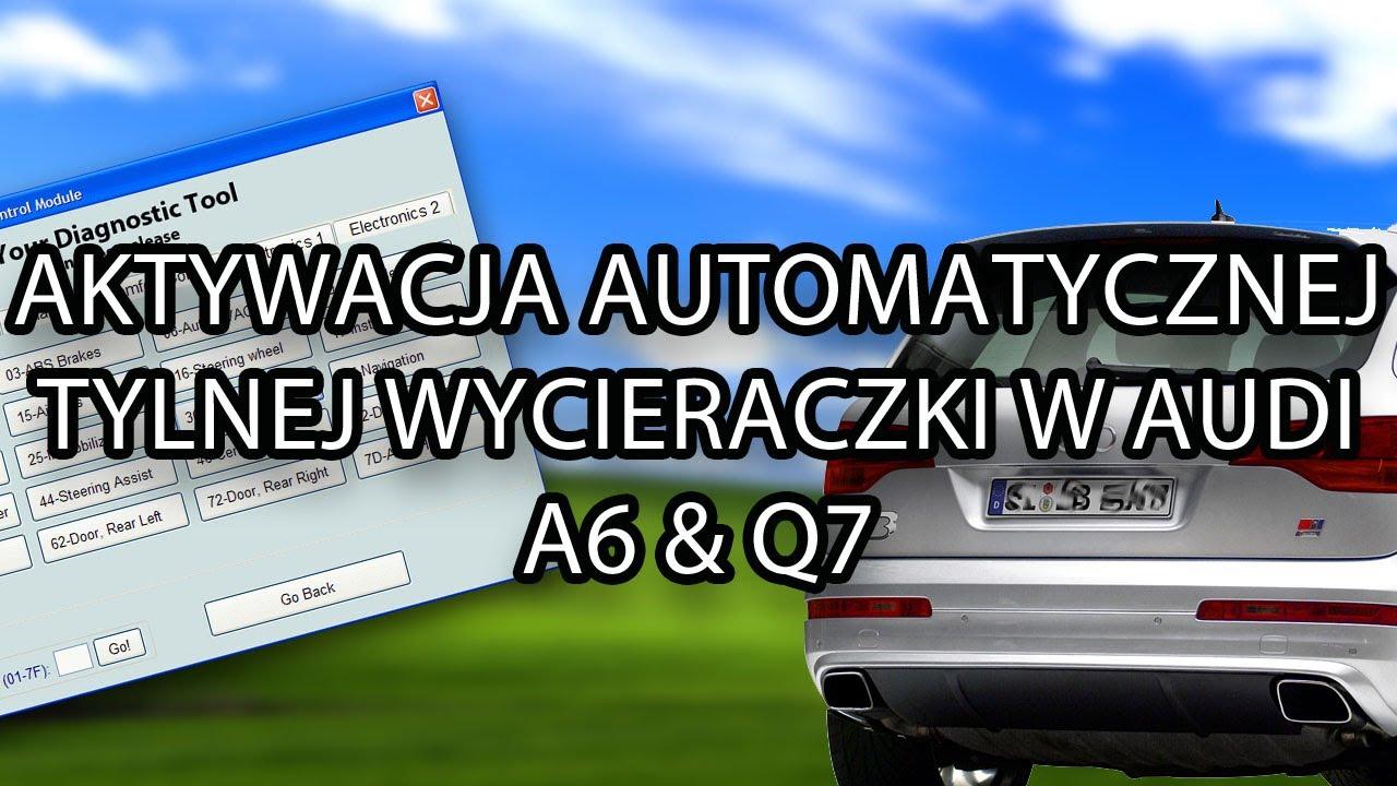 Automatyczna Tylna Wycieraczka Audi Q7 I A6 C6 Mr Fix Pl