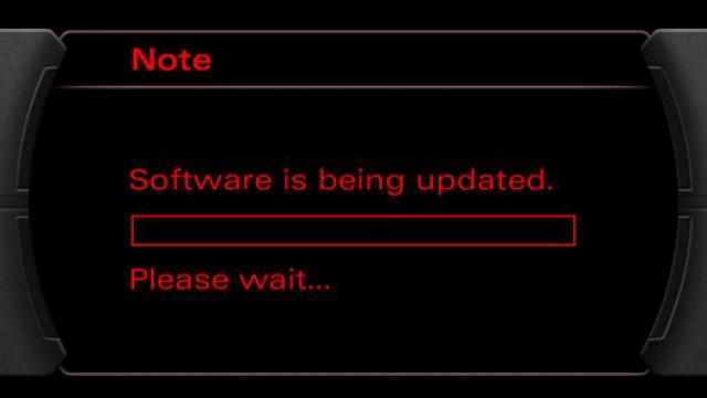 Audi RNS-E aktualizacja oprogramowania 0650