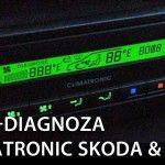 Climatronic menu serwisowe i autodiagnoza VW / Škoda
