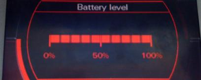 MMI 2G poziom naładowania akumulatora