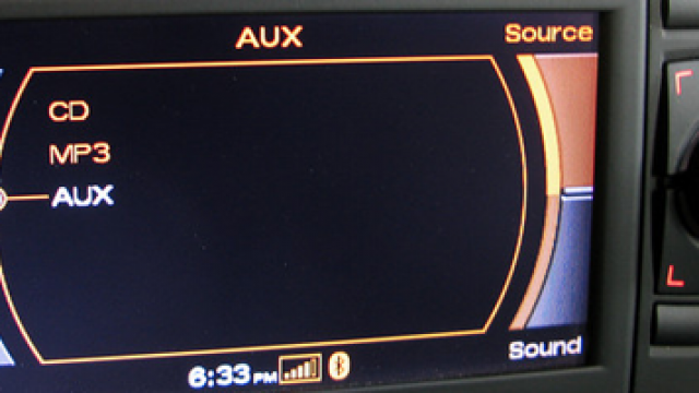 Audi RNS-E aktywacja AUX-IN