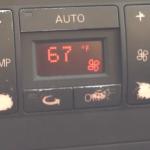 Audi Climatronic: Zmiana jednostek Fahrenheita na Celsiusza w A3 8L, A4 B6