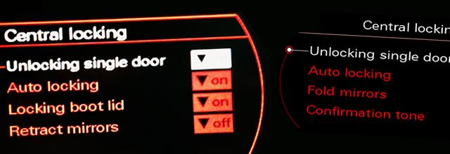 Automatycznie Składane Lusterka Audi A4 B8 Mr Fix Pl