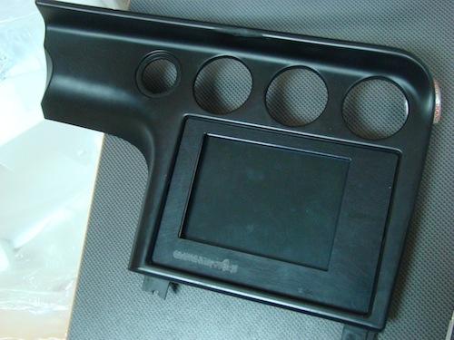 CarMac: Obudowa wyświetlacza