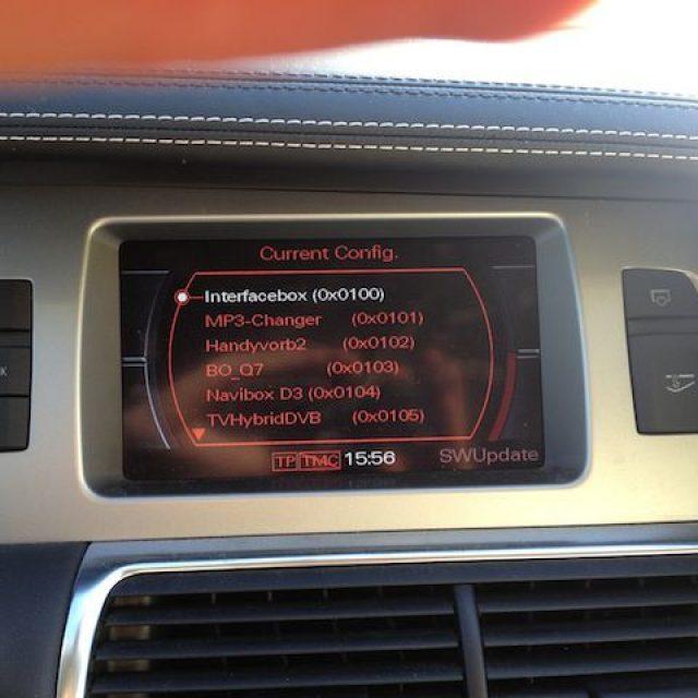 Ukryte czerwone menu MMI 2G – Opis