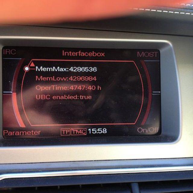 Jak oszacować przebieg Audi z MMI 2G