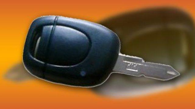 Renault Clio programowanie pilota centralnego zamka