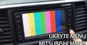 Mitsubishi Multi Communication System - MMCS ukryte menu