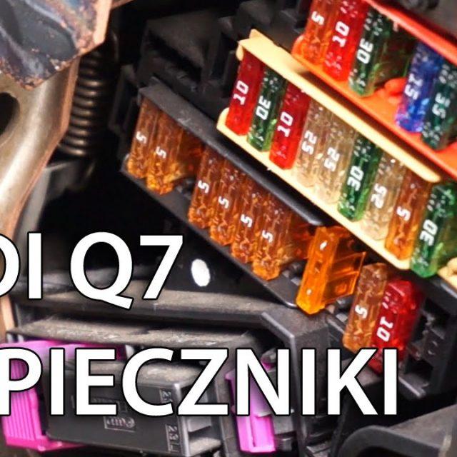 Gdzie znajdują się bezpieczniki Audi Q7