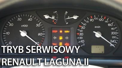 Renault Laguna II ukryte menu zegarów