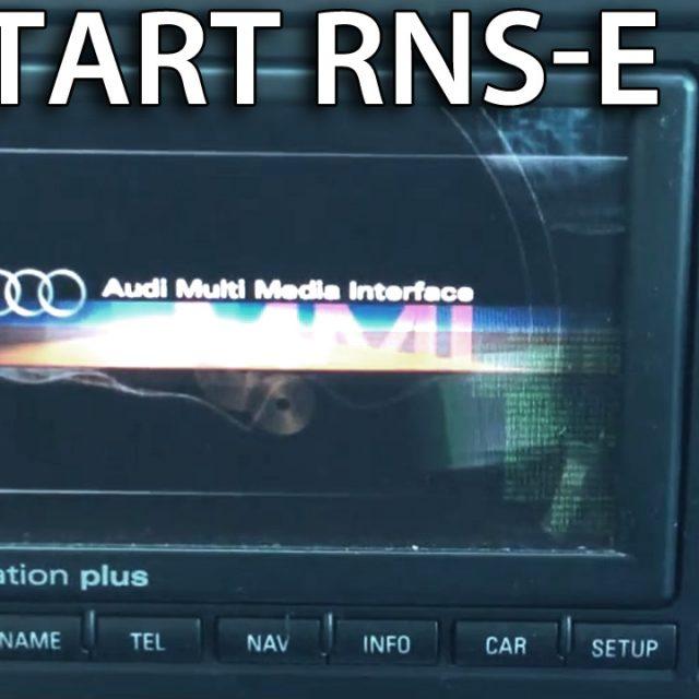 Wymuszony restart Audi RNS-E