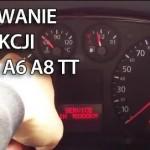 Kasowanie inspekcji Audi A2, A3 8L, A4 B6, A6 C4, TT