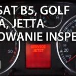 VW Passat B5 kasowanie inspekcji (Golf, Bora, Jetta)