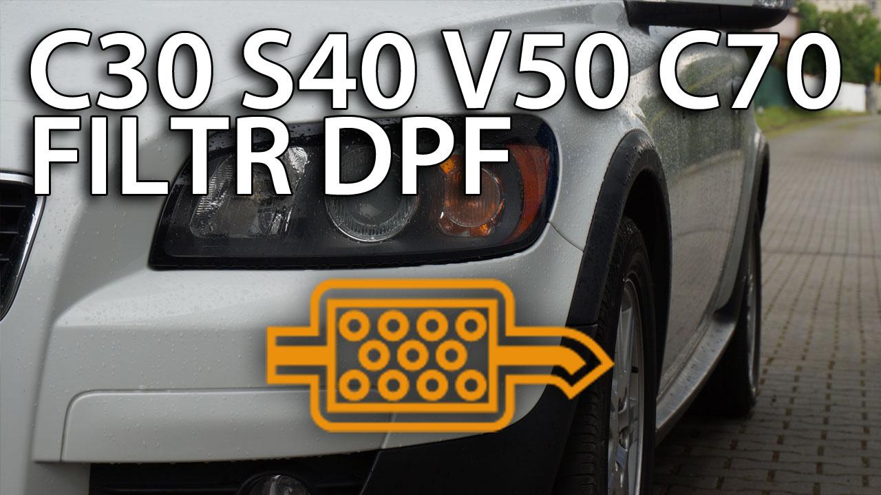 Volvo DPF FAP sprawdź czy masz V50 S40 C30 C70