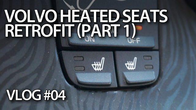 vlog - Montaż podgrzewania foteli w Volvo C30 S40 V50 C70 (1)