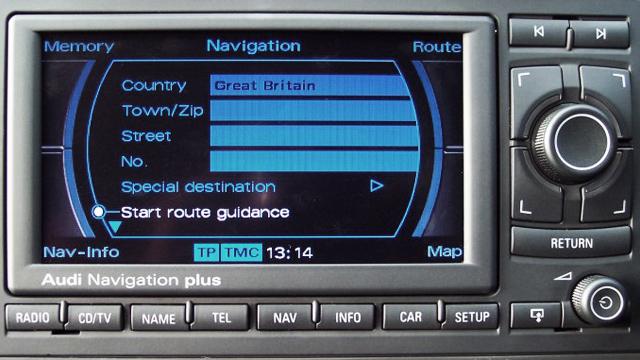 Audi Radio Navigation System E