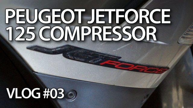 vlog - Ratowanie skutera Peugeot JetForce 125 Compressor