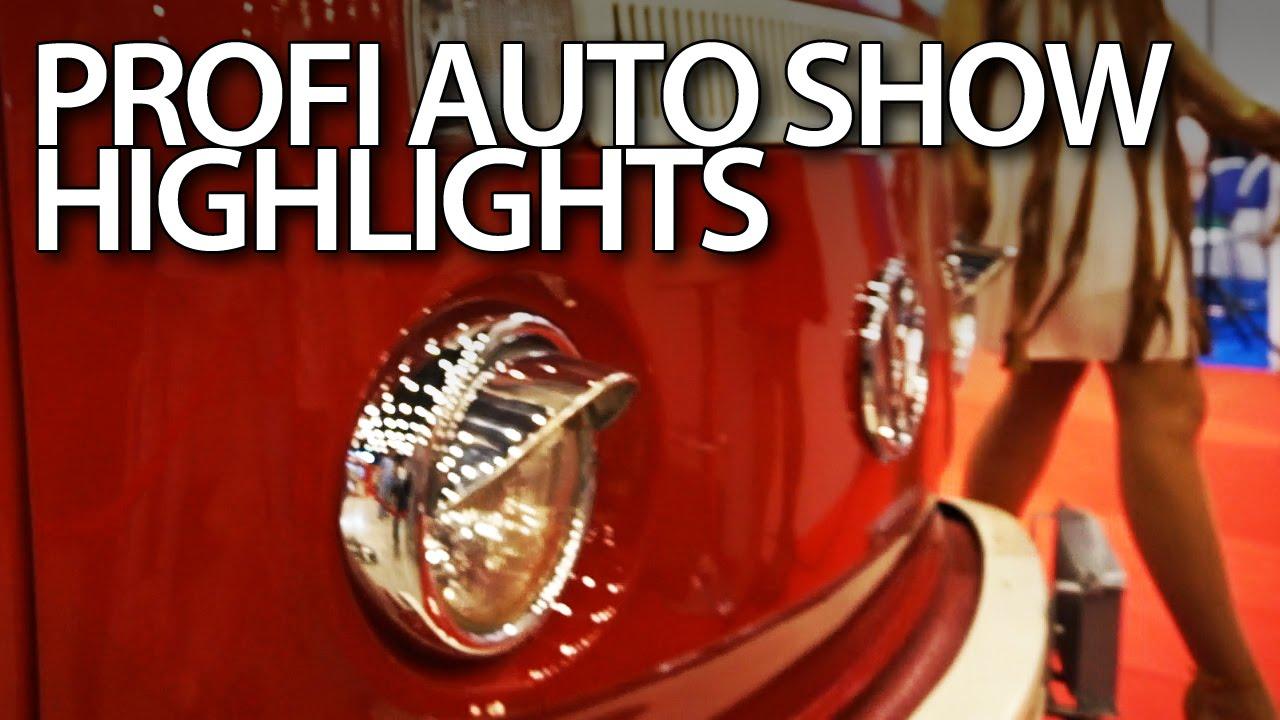 vlog - Urywki z Profi Auto Show 2016 (Katowice, Polska)