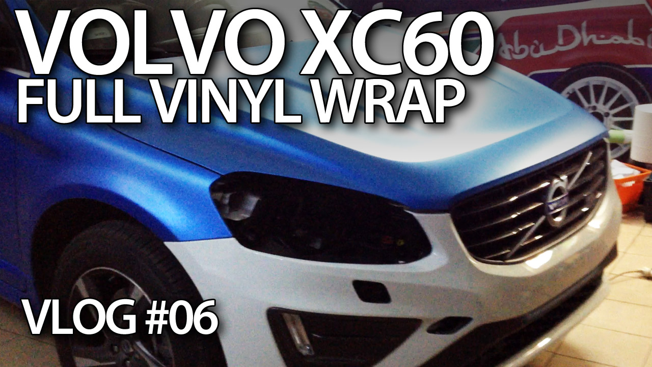 Volvo XC60 oklejanie folią całego auta