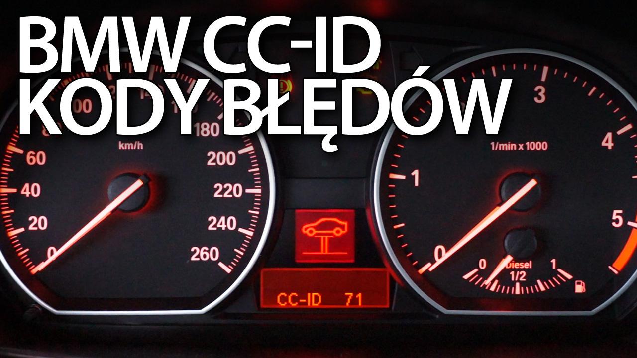 BMW kody CC-ID E87, E90, E60, E63, X5 E70
