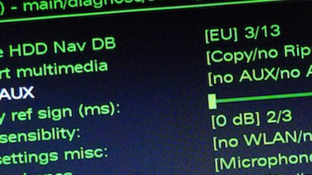 Jak odblokować ukryte zielone menu MMI 3G