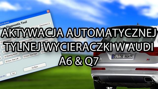 Automatyczna tylna wycieraczka Audi