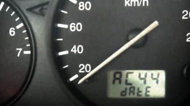 Ford Puma Fiesta MK5 - menu serwisowe