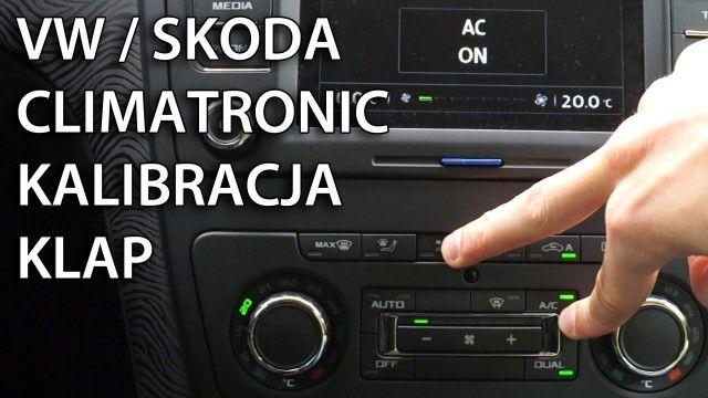 Kalibracja Climatronic Škoda VW