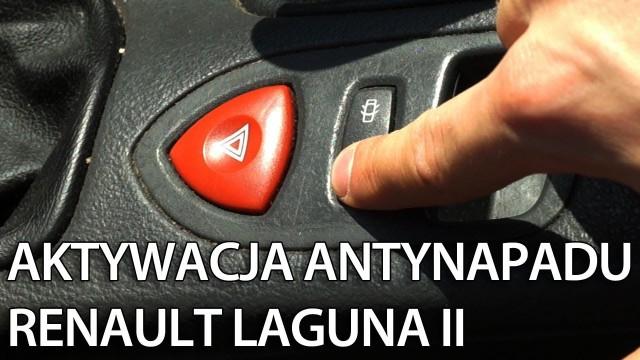 Renault Laguna II antynapad